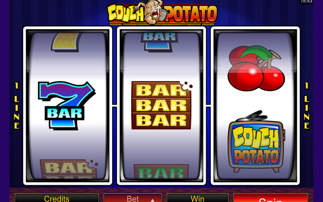 Couch Potato: The Lazy Slot